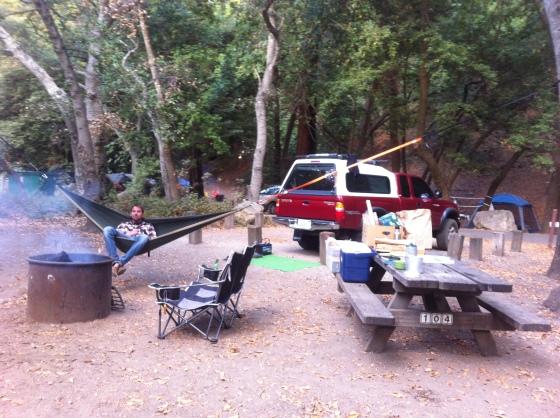 Campsite #2!